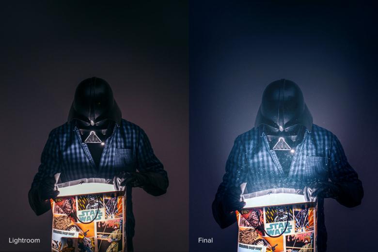 Obróbka zdjęcia Vadera