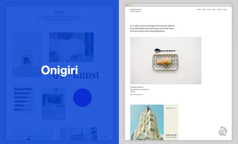 Minimalistyczne szablony WordPress od Elmastudio