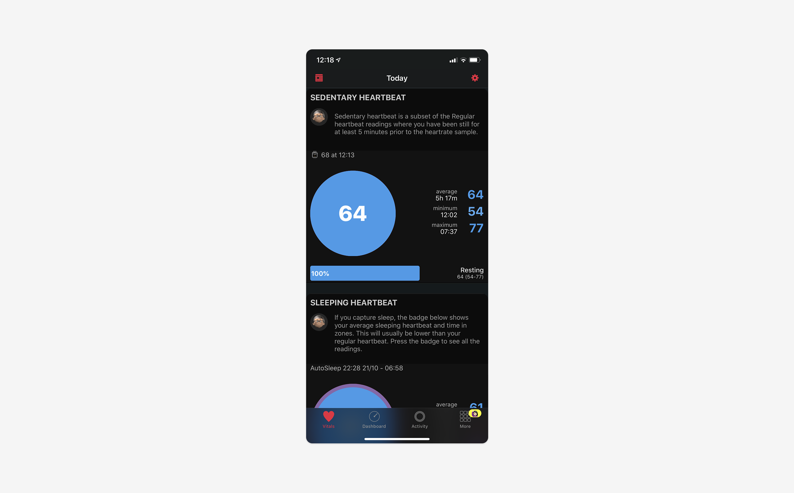 HeartWatch na iOS